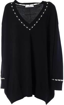 Givenchy Faux Pearl Sweater