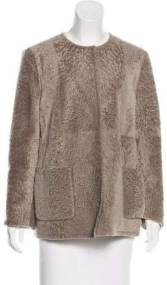 Max Mara Reversible Shearling Jacket w/ Tags