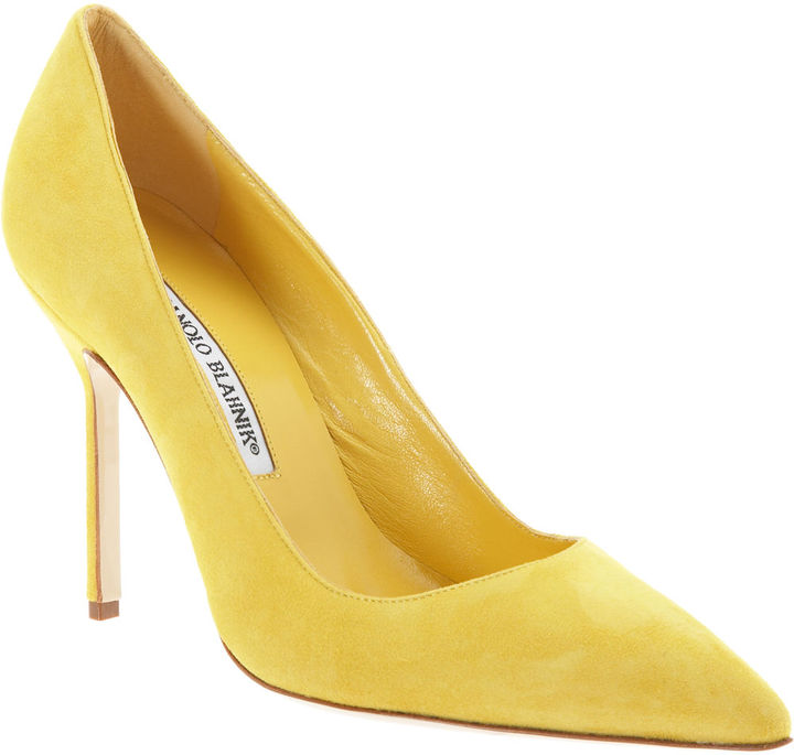 Manolo Blahnik BB - Yellow