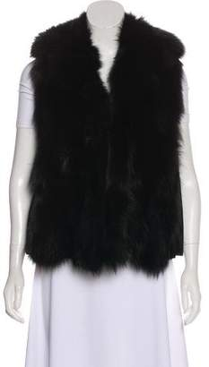 Fratelli Rossetti Fox-Fur Lined Leather Vest