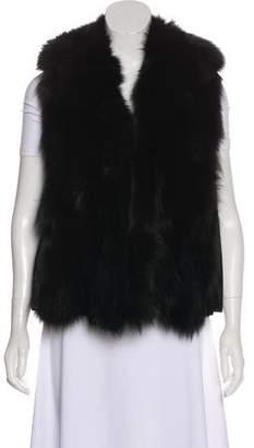 Fratelli Rossetti Fox-Fur Lined Leather Vest