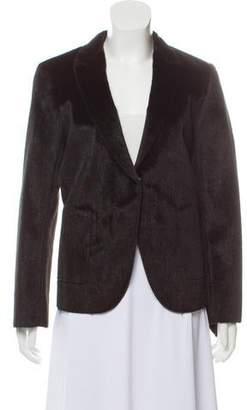 Ter Et Bantine Faux Ponyhair Collarless Jacket
