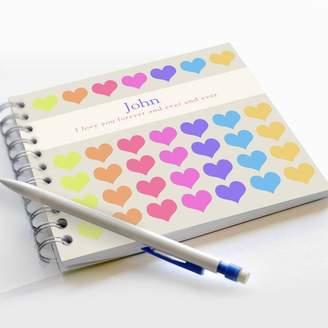 Equipment Amanda Hancocks Heart Notebook