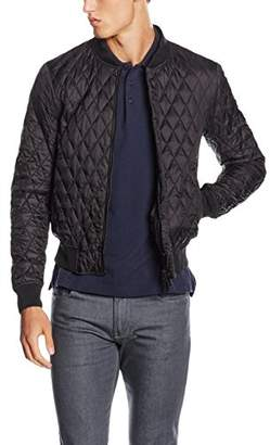 Armani Jeans Men's Quilted Bomber Jacket