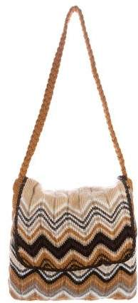 Missoni Intarsia Knit Shoulder Bag