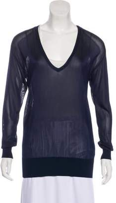 Ralph Lauren Black Label Jersey Long Sleeve Top