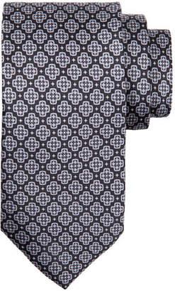 Stefano Ricci X-Medallion Silk Tie