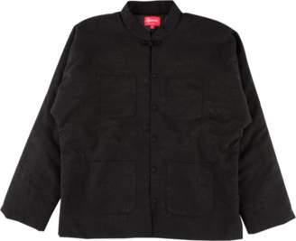Supreme Mandarin Jacket - 'SS 18' - Black