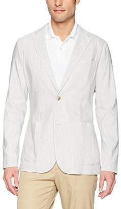 Perry Ellis Men's Slim Fit Linen Sport Jacket