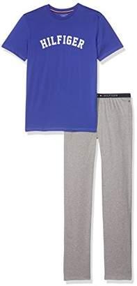 Tommy Hilfiger Boy's SS Pyjama Set,146 (Size: 10-12)