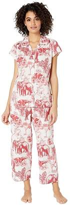 The Cat's Pajamas Safari Capris Pajama Set