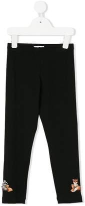 MonnaLisa patch leggings