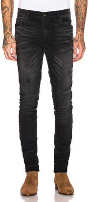 Amiri Stack Jean in Aged Black | FWRD