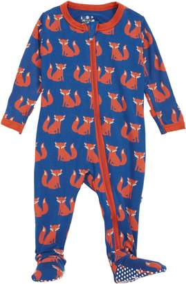 Kickee Pants Fox Footie