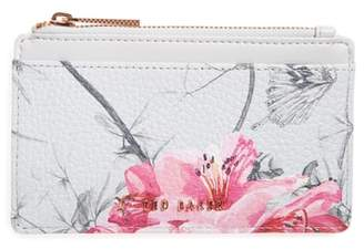 Ted Baker Babylon Print Leather Card Holder