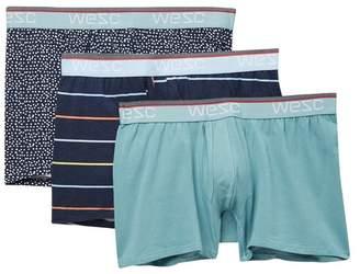 Wesc Benjamin Multi Stripe Assorted Boxer Briefs - Pack of 3