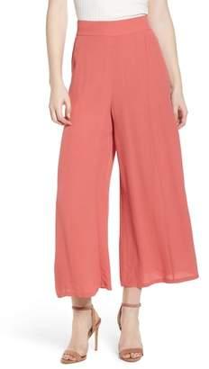 Leith High Waist Crop Wide Leg Pants