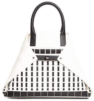 Akris Ai Medium Hotel Facade Top-Handle Bag