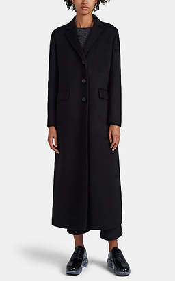 Prada Women's Wool-Blend Melton Coat - Black