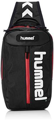Hummel (ヒュンメル) - [ヒュンメル] ワンショルダー ワンショルダーバッグ HFB9121 9020 ブラック*レッド (9020)