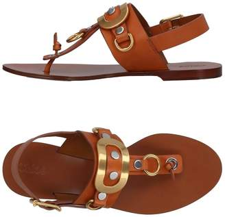Chloé Toe strap sandals - Item 11375411EB