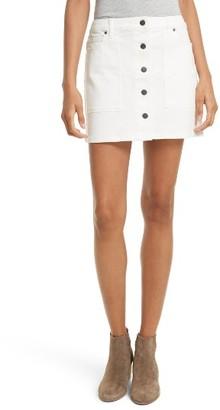 Women's Rebecca Minkoff Rufus Denim Miniskirt