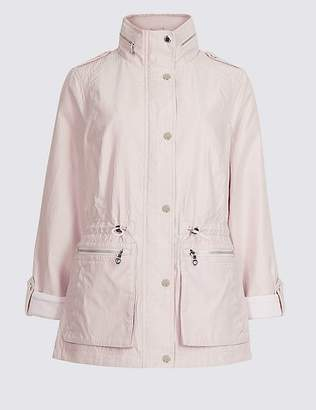 Marks and Spencer Jacquard Anorak Jacket with StormwearTM