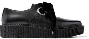 Marc by Marc Jacobs Leather Platform Loafers