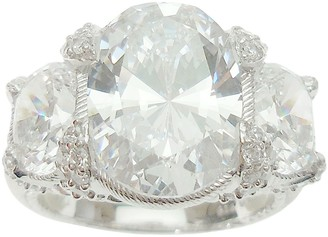 Judith Ripka Sterling 9.20 cttw Diamonique Ring