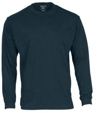 Smith's Workwear Men's Long Tail Long Sleeve Pocket Tee
