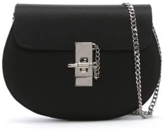 Daniel Affect Black Satin Shoulder Bag