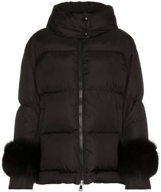 Moncler Effraie Fur Padded Jacket