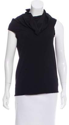 Plein Sud Jeans Cowl Neck Sleeveless Top w/ Tags