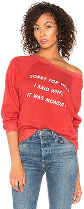 Wildfox Couture Monday Sommers Sweater
