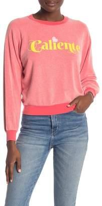 Wildfox Couture Caliente Junior Sweatshirt