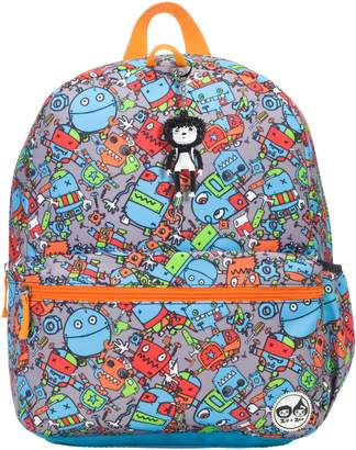 Babymel Zip & Zoe Robots Junior Backpack