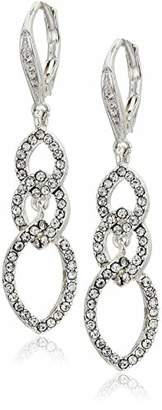 Anne Klein Women's Crystal Drop Earrings