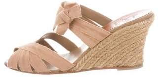 Christian Louboutin Peep-Toe Wedge Sandals