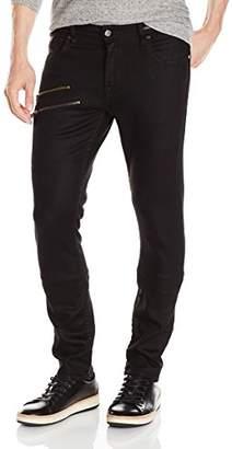 GUESS Men's Skinny Zip Jean