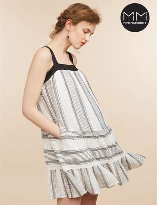 Motherhood Maternity MiMi Tiered Maternity Dress
