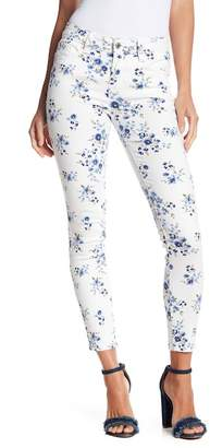 Kensie Jeans Fashion Floral Print Ankle Jeans