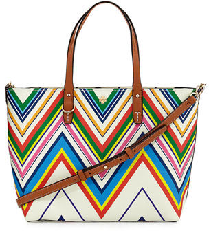Tory Burch Kerrington Small Floral Tote Bag $250 thestylecure.com