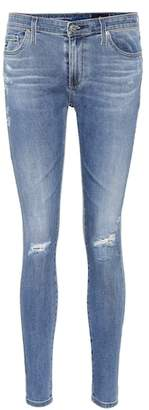 AG Jeans The Legging Ankle blue skinny jeans