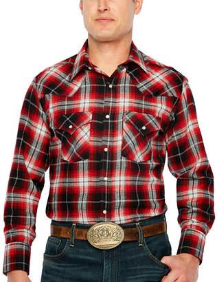 fa9a1282e32a5f Ely Cattleman Snap Flannel Shirt