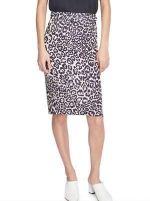 Miss Selfridge Belted Knee-Length Skirt