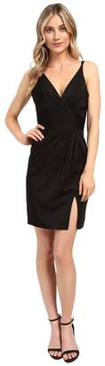 Faviana Chiffon V-Neck w/ Full Skirt 7850 Women's Dress