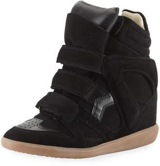Isabel Marant Bekett Wedge High-Top Sneakers