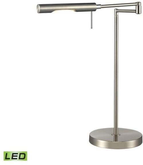 Dimond Lighting D2709 1 Light Swing Arm Desk Lamp from the Laconia Collection