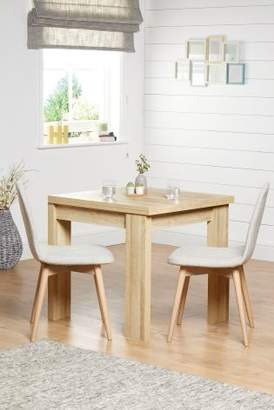 Next Madsen 4-6 Seater Square To Rectangle Dining Table