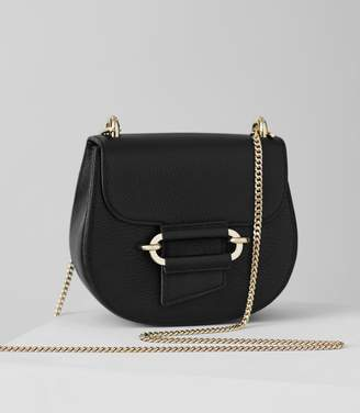 Reiss Maltby Mini - Mini Cross-body Bag in Black